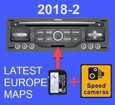 LATEST 2018-2 CITROEN PEUGEOT SD CARD GPS NAVI  UPDATE RNEG EUROPE WIPNAV/MYWAY