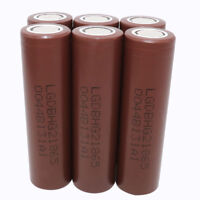 18650 Batteries 3000mAh High Drain Li-ion Rechargeable Battery for Power Bank