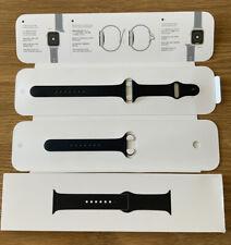 Genuine Apple Watch Black Sports Band 42/44mm