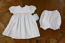 NEW Remember Nguyen Smocked Heirloom Dress 24 mths Girls Boutique 1357W