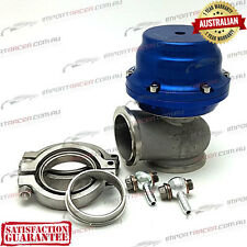 44MM V BAND WASTEGATE BLUE 14PSI TiAL STYLE V44 Air Cooled 1 Year Warranty