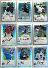 2011 Bowman Chrome 19-card REFRACTOR Baseball Lot  Jurickson Profar