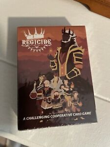 NIS Regicide Co-op Card Game TGG Games Badgers From Mars 2021 Red Cover
