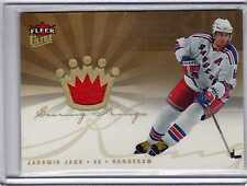 Jaromir Jagr  2005 Fleer Ultra Scoring Kings Jersey #SKJ-JJ RANGERS  Hockey