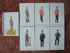 Postcards - THE VOLUNTEERS.  6 card set.  Mint Condition.