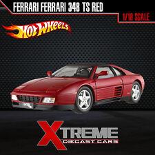 HOTWHEEL ELITE X5480-9964 1:18 FERRARI FERRARI 348 TS RED SUPERCAR DIECAST CAR