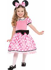 Child's Disney Deluxe Minnie Mouse Costume, Small  4-6 NIP