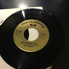 """GOOD OLD ROCK 'N ROLL, CAT MOTHER, FROM 1973, 45 RPM  VINYL 7"""""""