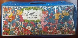 Vintage 1970 Dawn Doll Carrying Case