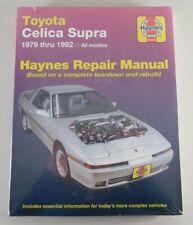 Repair Manual Toyota Celica Supra, Year 1979 - 1992
