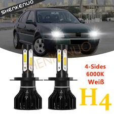2x LED H4 SCHEINWERFER LAMPEN FERNLICHT HEADLIGHT K9 Für VW BORA 1J GOLF 3 POLO