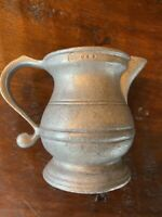 Vintage RWP USA PEWTER Mug Cup Tankard Wilton With Handle 4 In. Tall Mint