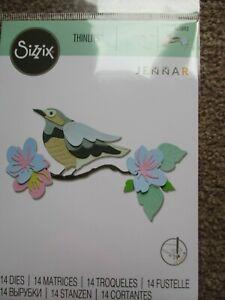 SIZZIX Thinlits Dies - Spring Bird - 665093