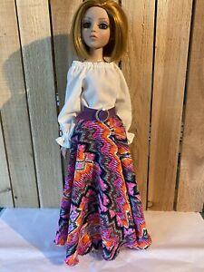 "Ellowyne Wilde 16"" Doll Tonner Outfit Fashion Gown - A Little Boho"