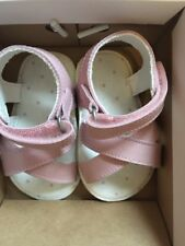 Bnib New Mothercare Baby Girls First Sandals Pink Leather Size 2