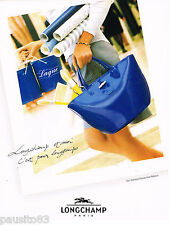 PUBLICITE ADVERTISING 065  1997  le sac COROLLE coll ROSEAU de LONGCHAMP