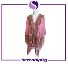 Pink Long and Soft Pure Silk Scarve/Shawl