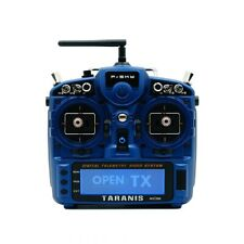 FrSky Taranis X9D Plus 2019 SE w/ Upgraded Switches & M9 Hall Gimbals - Blue