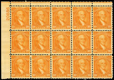 US #715 10c 1932 Washington Bicentennial Plate Block 15 VF MNH
