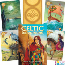 CELTIC LENORMAND ORACLE DECK CARDS CHLOË MCCRACKEN ESOTERIC TELLING ASTROLOGY