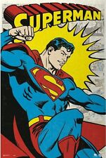 SUPERMAN COMICS POSTER Classic Version (Size 24x36 inches)