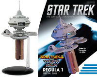 Eaglemoss Star Trek II The Wrath of Khan Regula I Space Laboratory READY TO SHIP