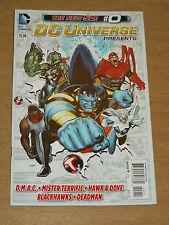 DC UNIVERSE PRESENTS #0 FN (6.0) DC COMICS NEW 52 NOVEMBER 2012