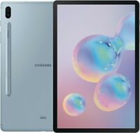 "Samsung Galaxy Tab S6 10.5"" 128GB Cloud Blue Wi-Fi SM-T860NZBAXAR"