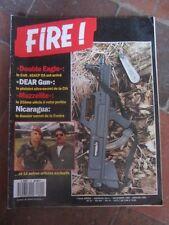 magazine FIRE N°4 DEC89/JAN90 nicaragua, colt 45 ACP, etc...