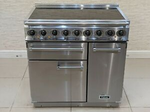 FALCON DELUXE 90CM INDUCTION RANGE COOKER IN STAINLESS STEEL  A667