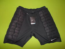 NEW Goalkeeper Shorts NIKE (L) DRI-FIT Padded PERFECT !!! Black