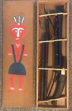 Vintage Primitive Tribal African Weapon Collection.