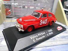 VOLVO PV544 PV 544 Buckel Rallye Monte Carlo 1962 #340 Rosqvist IXO Altaya 1:43