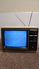 "Vintage 1977 SHARP 13"" COLOR TV LINYTRON + PLUS Model 13B22 - Very Nice!"