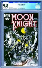 CGC 9.8 MOON KNIGHT #21 WHITE PAGES 1ST SERIES 1982 BILL SIENKIEWICZ COVER