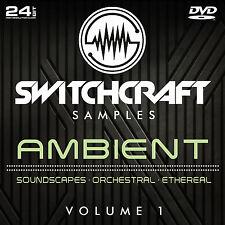 Ambiante VOL 1-Studio de 24bit wav / échantillons de production musicale-DVD