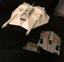STAR WARS 1996 ACTION FLEET Series Alpha Concept SNOWSPEEDER Loose COMPLETE