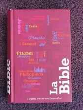 French Bible La Bible, Segond 21, 21st Century Segond, Mauve Semi-Rigid,Handheld