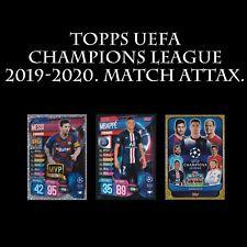 Topps UEFA Champions League Chrome 2019-2020 uefacl FOOTBALL SOCCER CARD 2