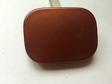 PEUGEOT 307 REAR BUMPER TOWING HOOK EYE COVER CAP ORANGE (R74)