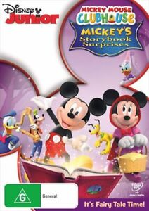Mickey Mouse Clubhouse - Mickey's Storybook Surprises DVD