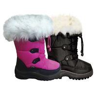 XTM Skylark Kids Winter Apres Snow Boots Sizes 24-36 Euro