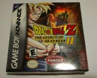 RARE NEW & SEALED Dragon Ball Z: The Legacy of Goku II Game Boy Advance GBA Game