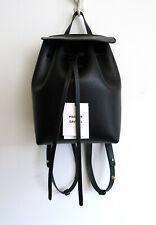 MANSUR GAVRIEL Mini Saffiano Leather Backpack Black Flamma Net-A-Porter NWT $685