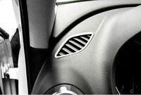 For Audi A3 8V 2012-2017 Steel Interior Upper Air Vent Outlet Cover Trim 2pcs
