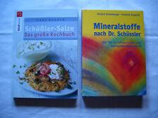 Mineralstoffe nach Dr. Schüssler + Schüssler-Salze Kochbuch