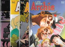 LIFE WITH ARCHIE #37 LOT OF 4 VARIANT COVERS (NM-) DEATH OF ARCHIE