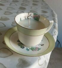 Tea Cup Candle - Snow Fairy Scent #recycling #revive