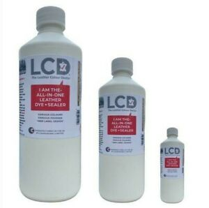 leather colourant repair & recolour dye All in one application Black paint kit
