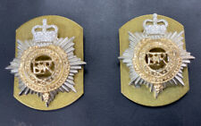 Pair Of Police Epaulette Badges